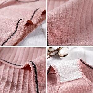 Image 3 - Femmes coton culottes sexy caleçons ensemble sous vêtements lingerie intimes slips respectueux de la peau filles culottes dropshipping 3 pcs/lot