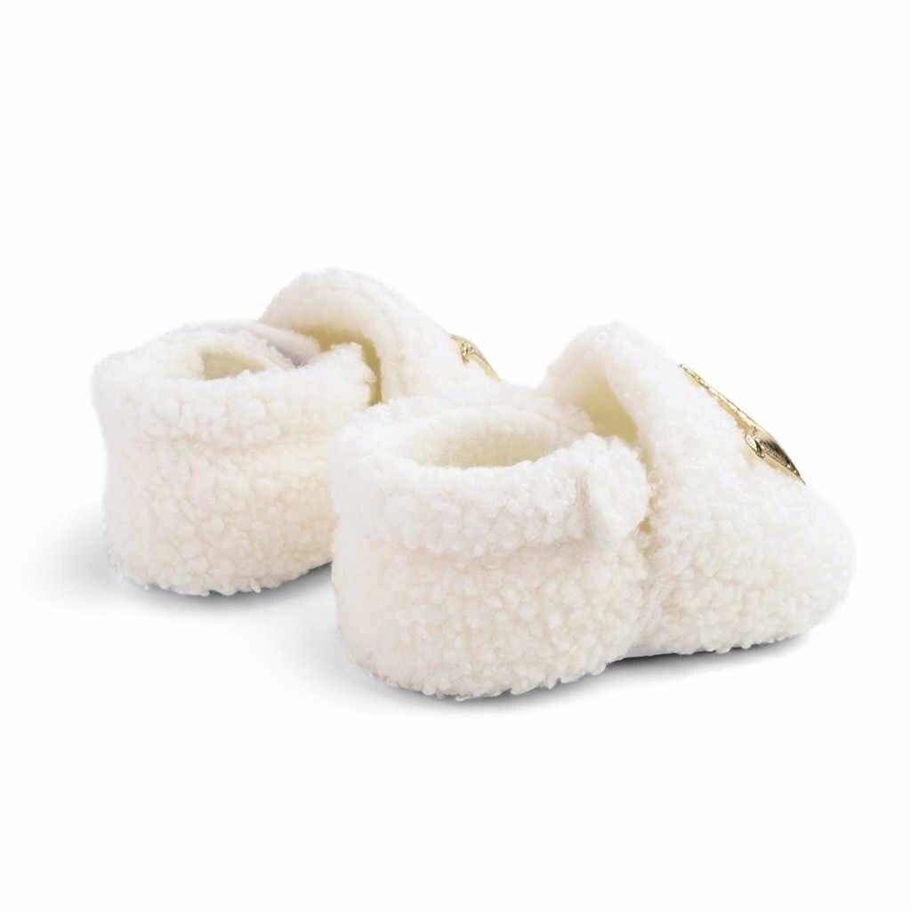 Infantile enfant en bas âge solide Fretwork chaussures hiver troupeau slip on enfants chaussures unisexe en caoutchouc chaussures filles et garçons mignon toutes les saisons chaussures