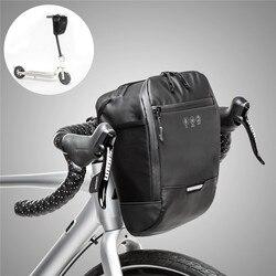 Rower wielofunkcyjny przednia rama do torebki wodoodporne przenośne kieszenie rowerowe o dużej pojemności rama do torebki s