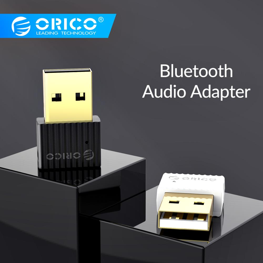 ORICO Mini Wireless USB <font><b>Bluetooth</b></font> 4,2 + EDR Audio Adapter <font><b>Bluetooth</b></font> Dongle Musik Sound Fahrer-Freies Sender für Computer image