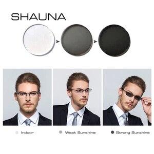 Image 3 - SHAUNA lentes de resina graduadas para CR 39, lentes de decoloración para miopía, hipermetropía, óptica, sensible a la luz, 1,56