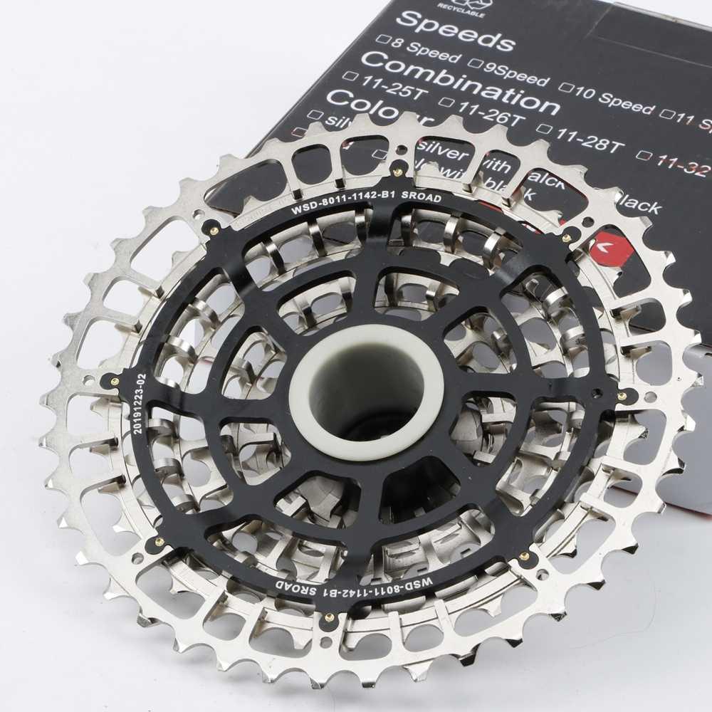 متب 11 سرعة كاسيت 11s 11-42T SLR2 خفيفة نك دراجة الحرة عجلة 11 فولت K7 دراجة هوائية جبلية نظام هغ ل GX X1 NX M8000