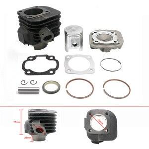 90cc 2 тактный большой диаметр комплект цилиндр восстановление поршневых колец для скутеров с JOG MINARELLI клон двигатели