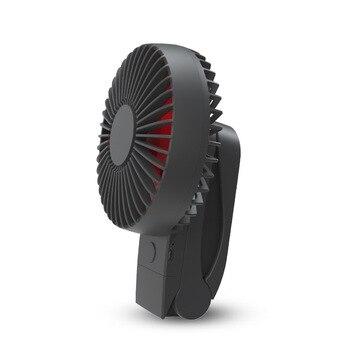 Портативный охлаждающий мини-вентилятор Usb 4000 мАч, 4 скорости, вращение на 360 градусов, перезаряжаемый воздушный вентилятор с usb-зарядкой, нас...