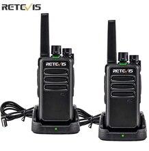 Retevis Walkie Talkie RT668 PMR 446 FRS Two Way Radio Portable Communication Equipment Walkie-Talkies 2 pcs PTT Radio Hotel Cafe