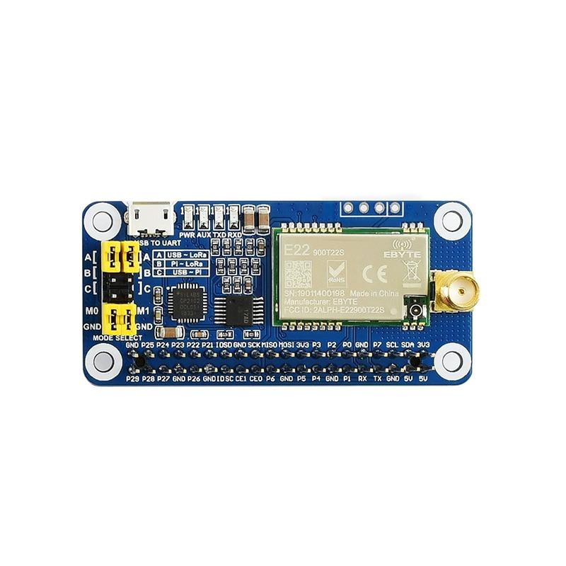 Raspberry Pi SX1262 / 1268 LoRa Wireless Communication Module 433/470/868 / 915MHz Band