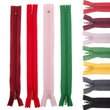 New 5/10pcs 3# 23cm Colorful Nylon Coil Zippers for skirt pants lace zippers DIY for sewing fastener clothing sewing accessories