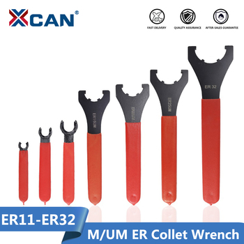 XCAN M/UM Type ER Collet Chuck Nut Wrench 1pc ER11/ER16/ER20/ER25/ER32 CNC Milling Tool Lathe Tools Spanner - discount item  50% OFF Machinery & Accessories