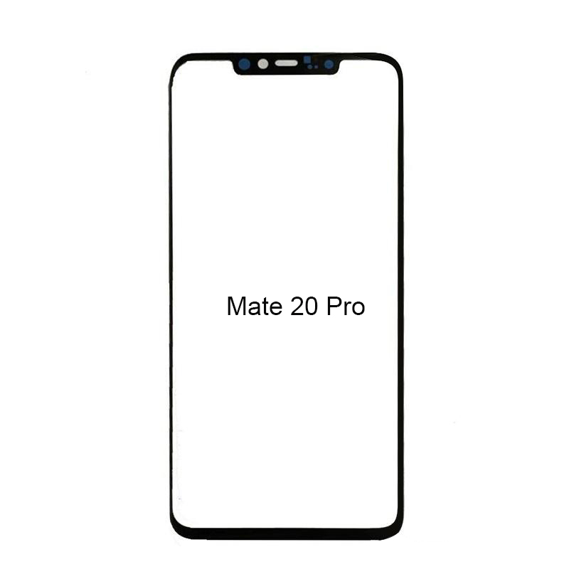 Front Outer Glass Lens Touch Panel Cover Replacement For Huawei P30 Pro P20 Lite Mate 20 Pro Mate 10 Mate 30 Front Screen Lens