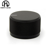 Алюминиевая ручка громкости Hi Fi, диаметр 35 мм, Высота 22 мм, ручка потенциометра усилителя