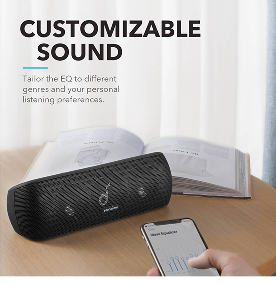 H3778e63b00a4452394d768449f7f433bo - Anker Soundcore Motion+ Bluetooth Speaker with Hi-Res 30W Audio, Extended Bass and Treble, Wireless HiFi Portable Speaker