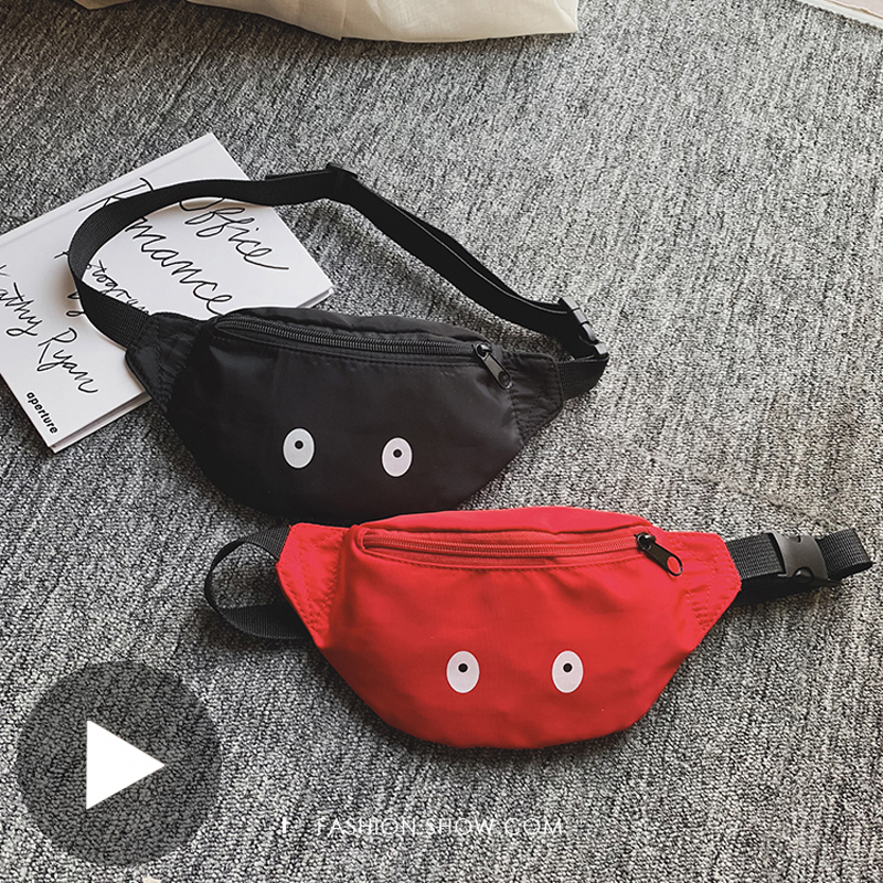 Belly Banana Bum Hip Chest Belt Waist Bag For Children Girl Kid Women Funny Fanny Pack Female Pouch Murse Purse Kidney Waistbag