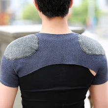 Cashmere Wool Autumn And Winter Wool Line Shoulder Pad Warm Pajama Cold-Proof Anti-Shoulder Middle-aged Men And Women Thick Neck electric moxa knee pads autumn and winter to keep warm old cold legs men women moxibustion joint inflammation middle aged