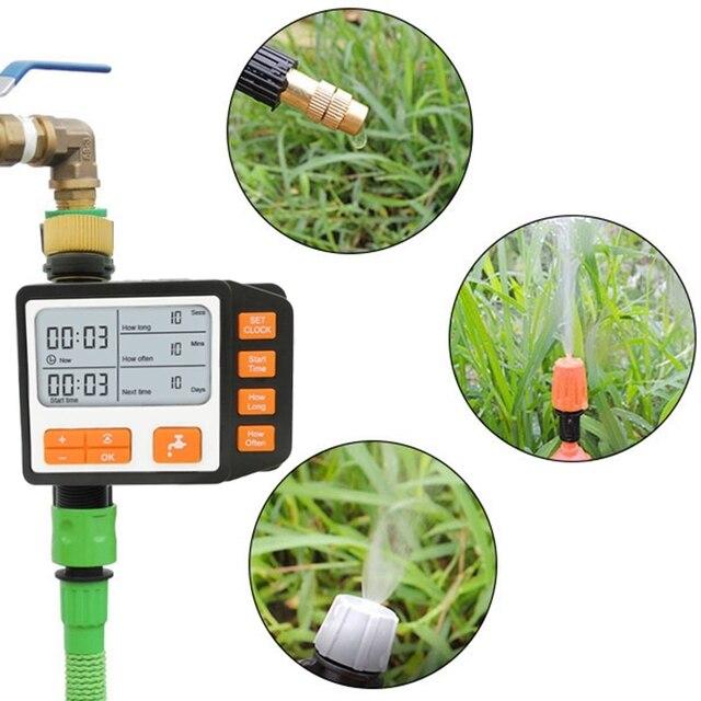 Фото автоматическая система капельного орошения для растений lcd цена