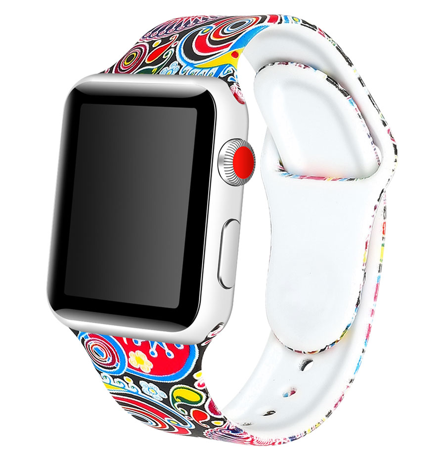 Multi Silicone Band for Apple Watch 32