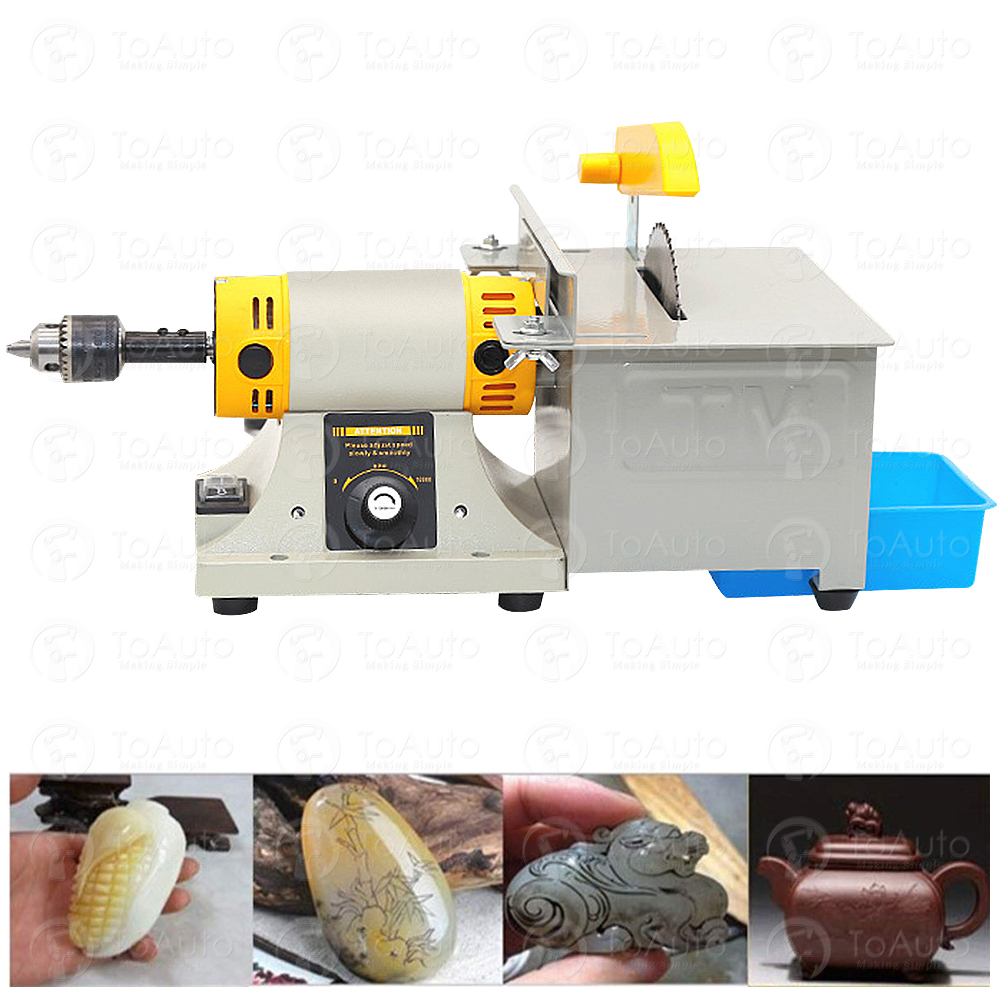 350W Jade Electric Grinder Engraving Cutting Machine 0~10000rpm For Polishing, Cutting, Grinding And Engraving Of Jewelry, Jade