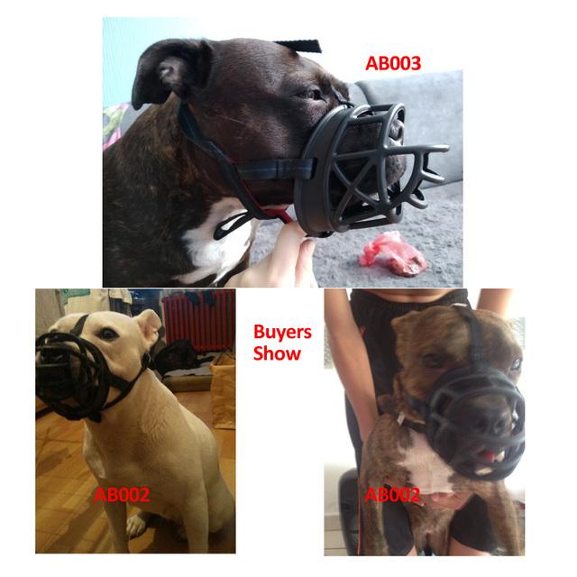 Perro Anti-ronquido vendaje boca entrenamiento máscara plástico bozal