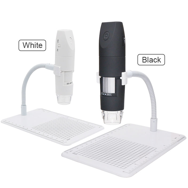Tools : 1000X Wifi Microscope LED Illuminated 1080P Electronic Microscopes for PCB Jewelry Inspection Digital Microscope Android IOS PC