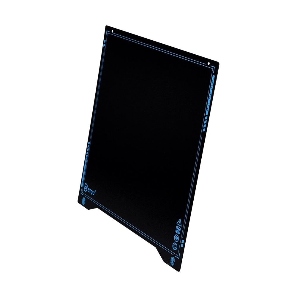 lowest price BIQU SSS Textured PEI Super Spring Steel Sheet 310x310 Heat Bed Flexible Build Plate PLA PETG ender3 I3 MK3 3D Printer Parts