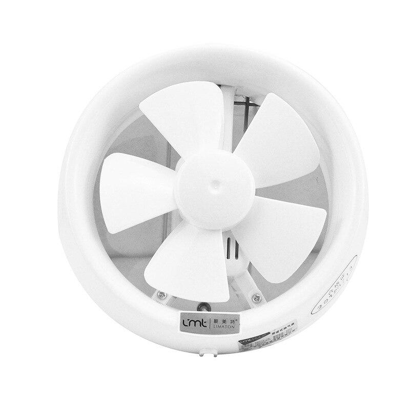 powerful high power showcase circular exhaust fan glass bathroom toilet manual ventilator