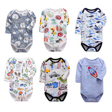 Baby Romper long Sleeve infant rompers Jumpsuit for baby boys cotton Baby Rompers Newborn Clothes Kids boy girls rompers spring autumn baby rompers hooded baby boys clothes newborn cotton clothes streetwear long sleeve infant boys girls jumpsuit