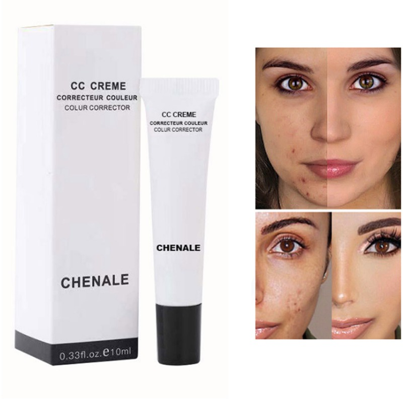 CC Cream Oil-control Moisturizing Cover Freckles Acne Marks Even Skin Color Cc Cream Liquid Foundation Face Makeup image