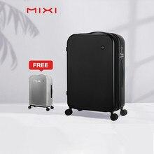 Mixi brevet conception valise de voyage hommes femmes boîtier de chariot PC roulant bagages Spinner roues TSA serrure couverture gratuite