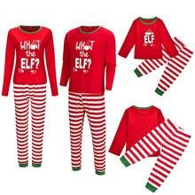 2019 Adult Women Christmas XMAS Pajamas Sets Sleepwear Nightwear Family Pyjama 2017 girls boys colthing sleepwear E0316