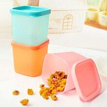 Mini Plastic Refrigerator Fresh Food Storage Boxes Sealed Boxes mini storage jars GHMY