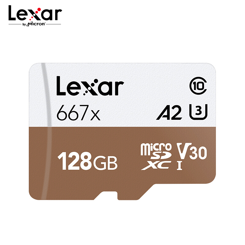<font><b>Lexar</b></font> <font><b>667x</b></font> Professional Memory Card Up To 100MB/s Micro SD Card C10 256GB TF Card 128GB Free Adapter for Drone Sport Camcorder image