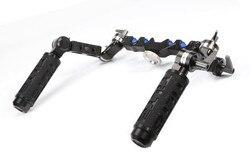 Tilta 3 DSLR Universal HandgRIP for 15mm rod rail system shoulder mount Rig/Free shipping