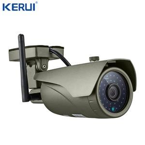Image 4 - KERUI Wifi Home Alarm GSM  TFT Color Display WIFI  GSM Alarm System Home Alarm Security  Gas Sensor Wifi Camera IP Burglar Alarm
