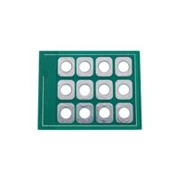 12 key access control touchpad 12 key capacitive touch digital keyboard module capacitive touch chip|Doorbell| |  -