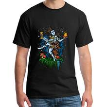 Design Lord Shiva Nataraja Hindu God Dancing t shirt 3xl 4xl 61xl 100% cotton anime Super mens tee t shirts(China)