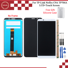 Ocolor TP Link Neffos C9A TP706A LCD 디스플레이 및 터치 스크린 어셈블리 5.45 tp Link Neffos C9A TP706A + Tools + Case