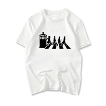 Doctor Who Printed Short Sleeve T shirts For Girls Women Summer Fashion Tees Casual O-Neck Unisex Cool T-shirt Tops
