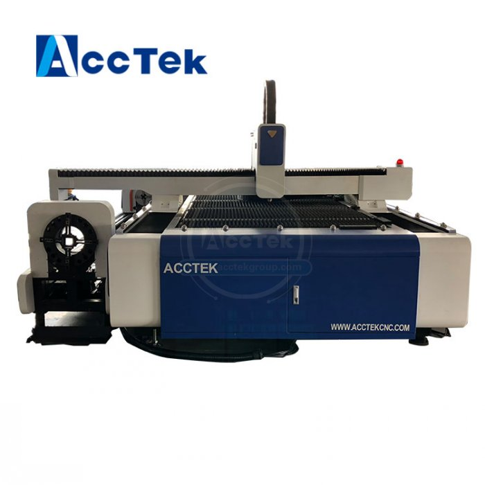 Carbon Steel Stainless Steel Metal Pipe Fiber Laser 1kw Cutting Machine ,fiber Laser 1000w 1500*3000mm