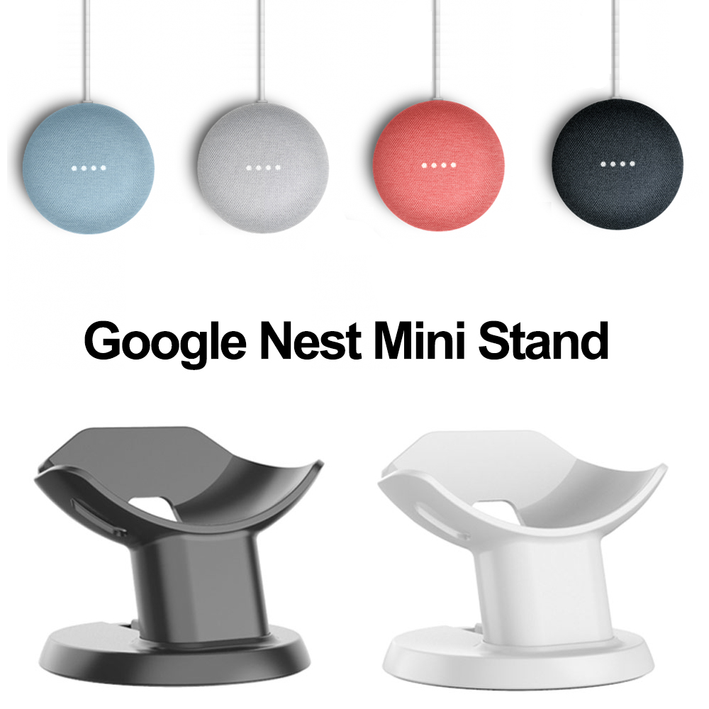Desk Stand For Google Nest Mini Home Mini Holder Voice Assistant Smart Home Automation Simply Design Save Spacing Mount Bracket