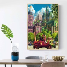 Posters and Prints Studio Ghibli Tribute Totoro Animation Poster Canvas Painting Wall Art Picture for Kids Room Home Decorative