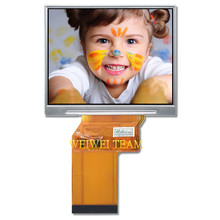 Pantalla LCD Mudule JT035IPS02 V0, 3,5 pulgadas, 640x480, Panel TFT, pantalla IPS, JT035IPS02 V0