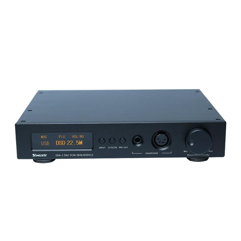Singxer SDA-2 Decoding Audio Decoder Headphone Amplifier DSD512 AK4497EQ DAC Hifi Professional amplifier01