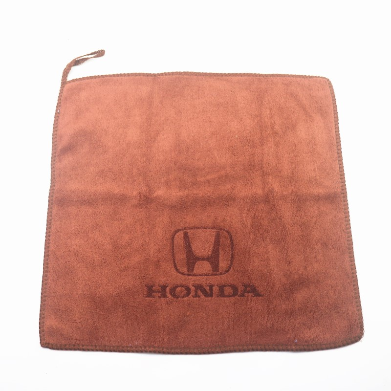 30*30CM Car Sticker Wash Microfiber Towel Car Cleaning For Mugen Power Honda Civic Accord CRV Hrv Jazz Car Styling