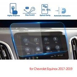 Para chevrolet equinox 2017 2018 2019 navegação do carro gps tela protetor de exibição tela vidro temperado película protetora