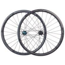 1250g carbon BOOST tubeless wheels 29er MTB XC 30mm wide 25mm inner straight pull wheelset 110mm 148mm XD 11s micro spline 12s