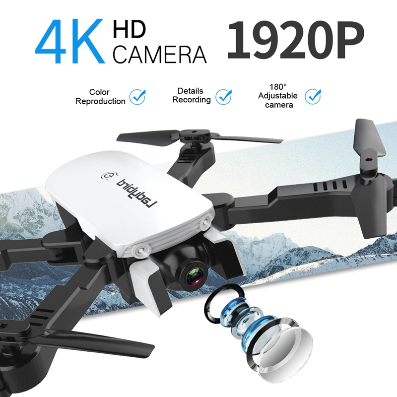 4K Mini Drone Professional Camera HC Foldable Off-Point Quadcopter Gps R8 Height Hold Mode Kids Toy 1
