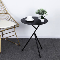 simple house and home iron art tea table Guesthouse roundness Small tea table house and home corner dining hall coffee table