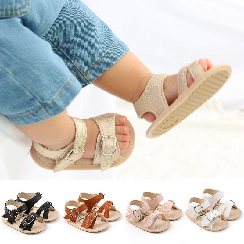 Summer Baby Sandals Baby Shoes Toddler Shoes Sandals 11/12/13 Cm Leather Sandals Comfortable And Breathable