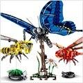 Имитация пчелы пирсинг для пупка Фигурка DIY насекомое блоки образовательное строительство детские игрушки  домашний декор рождественские ...