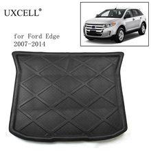Random Send PE+EVA Foam Black Rear Trunk Tray Boot Liner Cargo Car Floor Mat For Ford Edge Escape Fusion Focus Fiesta Mondeo