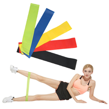 1 Set 5 Color Yoga Resistance Bands 5-40 Lbs Rubber Band Indoor Outdoor Training Workout Elastic Stretching Strap Gym Equipment